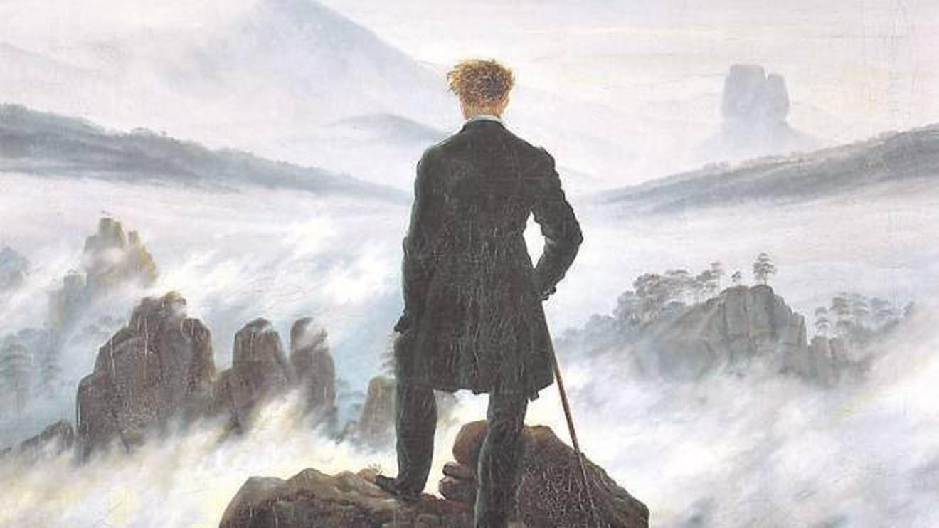 Romanticismo- Viandante sul mare di nebbia